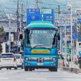 路線バスの自動運転実証実験 (2)
